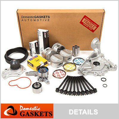 01-06 Dodge Stratus Chrysler Sebring 2.7L Full Gasket Piston/&Bearing/&Rings Set