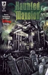 Haunted Mansion 7 Walt Disney Slave Labor SLG Dan Vado Rausch HTF 1st NM