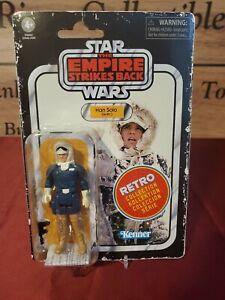 Boneco Han Solo Hoth Vintage Collection 2020 Retrô Coleção Star Wars.. perfeita