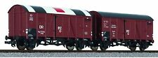 Liliput 230138   2 Car hospital Wagon Set - DRG  WWII Ep.II HO Scale 2 Rail