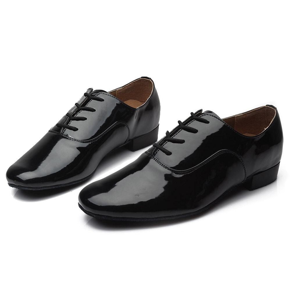 Adult men latin dance shoes ballroom Jazz salsa tango dance shoes flat heeled