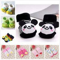 Infant Baby Toddler 3D Cartoon Anti-Slip Socks Shoes Slipper Socks  0-12 Months