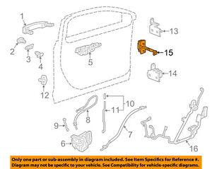 image is loading chevrolet-gm-oem-14-18-impala-front-door-