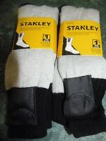 2 Pairs Stanley Electric Battery Operated Heated Thermal Socks Hunting Fishing