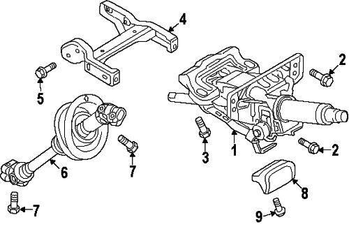 Genuine Audi Intermediate Shaft 8R1-419-753-H