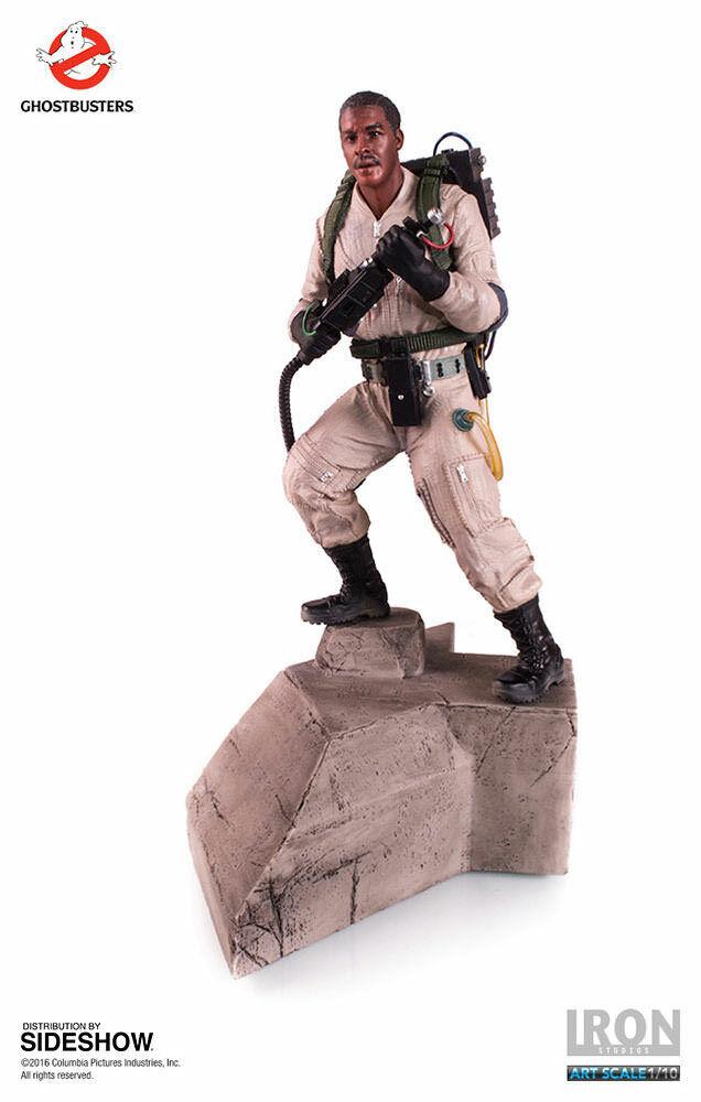 Iron Studios Ghostbusters Winston Zeddemore Fine Art 1 10th Scale Statue
