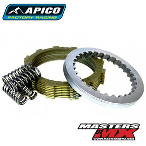 Apico Clutch Kit Steel Friction Plates /& Springs For KTM EXC 200 2002 Enduro