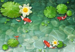 Koi Fish Pond Wallpaper | Club
