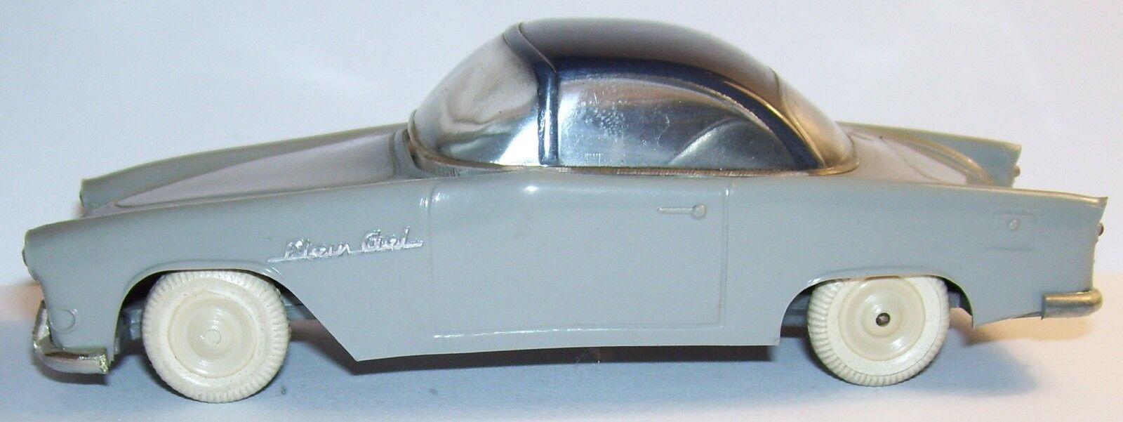 RARO OLD MINIALUXE SIMCA LLENO CIELO 1956 558 COUPE grigio TECHO nero FRICCIÓN 1