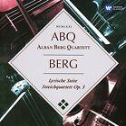 Berg: Lyrische Suite; Streichquartett Op. 3 (CD, Sep-2016, Warner Classics (USA))