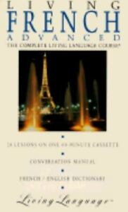Living-Advanced-French-Book-Cassette-by-Living-Language-Audiobook