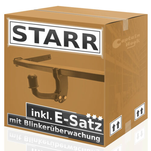 AHK starr Ford Focus I 3//5-Tür 98//04 7p E-Satz mit Blinküberwachung