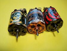 3 Trinity P2K Pro Stock 27x1 Brushed RC Motors for Losi HPI RC10 Tamiya Kyosho