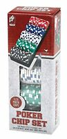 100 Ct. Classic Games Poker Chip Set 11.5 Gm (styles May Vary) , New, Free Shipp on sale