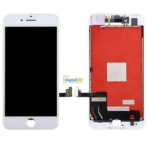 TOUCH-SCREEN-LCD-DISPLAY-RETINA-SCHERMO-FRAME-PER-APPLE-IPHONE-7-7G-BIANCO