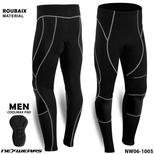 NexWears Men Thermal Winter Cycling Long Pants Wind Bicycle Bike Tights Trousers