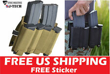 Strike Industries J-TECH Universal Magazine Pouch Glock 1911 223/556 clip FDE