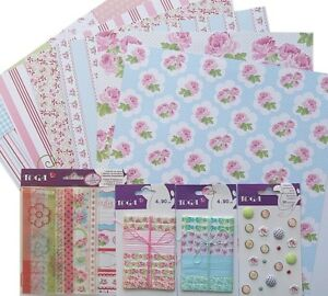 """Cardstock 12""""x12"""" Double Sided Paper Scrapbooking Art ..."""