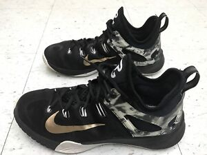 6fc5c8174c8a NIKE ZOOM HyperRev 2014 MEN S US SIZE 9.5 PAUL GEORGE PE BLACK GOLD ...