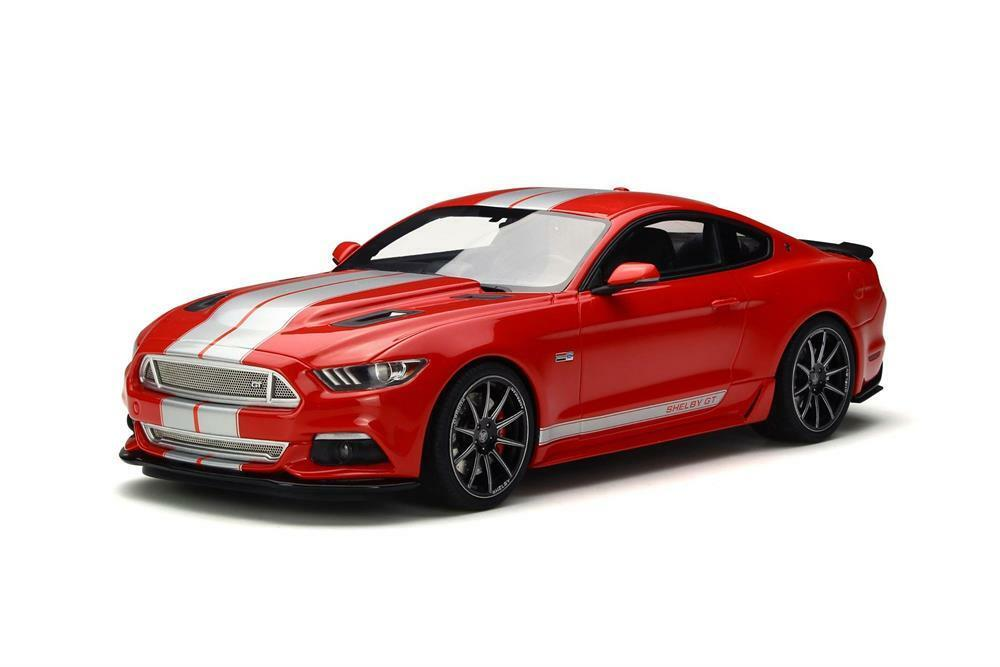 Ford Mustang Shelby GT Resin Model Car in 1:18 Scale by GT Spirit