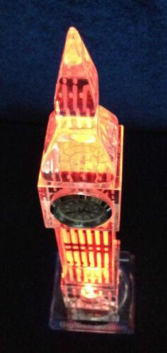 18cm 3D Crystal BigBen Model Clock Ideal Xmas Gift