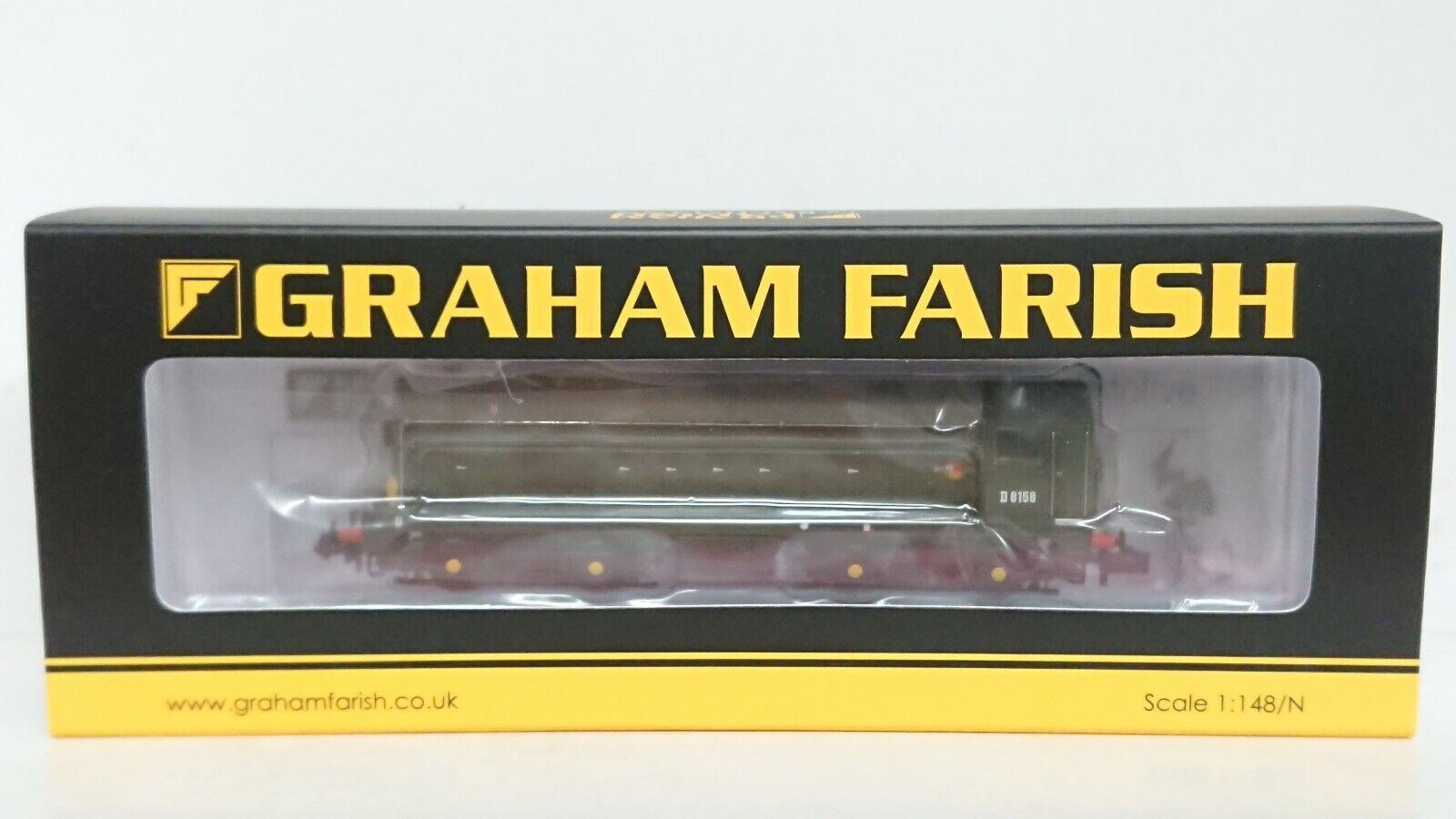 Graham Farish N Gauge 371038 classe 20 D8158 BR verde 6DCC nuovo