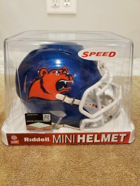 COAST GUARD ACADEMY BEARS Riddell Speed Mini Helmet