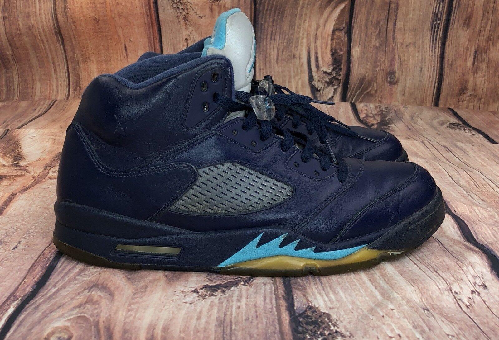 NIKE JORDAN 5 RETRO HORNETS Men Shoe Size 11.5 136027-405