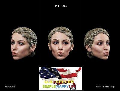Facepoolfigure 1//6 Male Head Expression for 12/'/' figure HOT TOYS Coomodel ❶USA❶