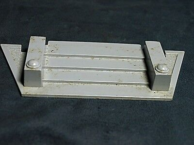 Plasticville Signal Tower Light Gray Roof  O-S Scale
