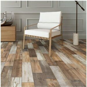 Superieur Image Is Loading Wood Vintage Flooring Porcelain Floor Wall Shower Kitchen