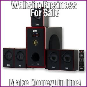 SPEAKER-SYSTEMS-Website-Earn-90-51-A-SALE-FREE-Domain-FREE-Hosting-FREE-Traffic