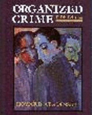 ORGANIZED CRIME Criminal Gang Mafia Criminals History Law Enforcement FBI Book