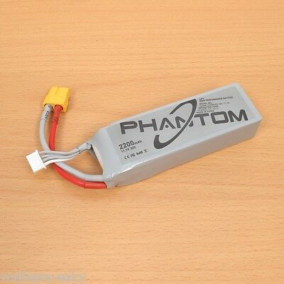 Genuine DJI Phantom 1 P330 Part P1-12 Battery 11.1V 2200mAh LiPo(Fit Runner 250)