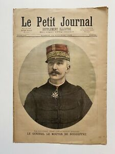 Supplement-Illustre-Le-Petit-Journal-14-10-1893-N-151-GENERAL-DE-BOISDEFFRE