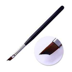 Acrylic-French-Brush-Black-Handle-Painting-UV-Gel-Brush-Pen-Nail-Art-DIY-Tool