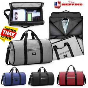 US-Men-Travel-Garment-Carry-On-Suit-Business-Luggage-Sports-Duffel-Shoulder-Bag