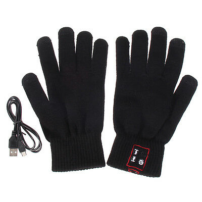 Bluetooth Gloves Touch Screen Mobile Headset Speaker For Andriod iPhone New