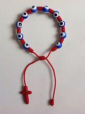 New Red Decenario Rosary Stylish Pulseras Against Blue Evil Eye of Envy