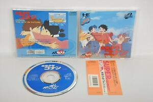 PC-Engine-SCD-CONAN-THE-BOY-IN-FUTURE-GOOD-Ref-007-PCE-Grafx-Game-pe