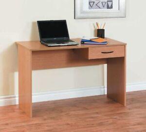 Light-Duty-Laptop-Study-Desk-Table-Workstation-Home-Office-Corner-PC-Oak-Color