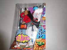 2003 Flavas Tika Mattel Urban Hip Hop Doll NRFB    #B7581 Two Outfits