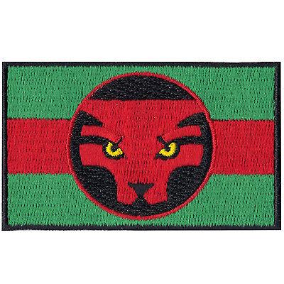 Wakanda Flag Iron On Patch Cosplay Black Panther Killmonger Marvel