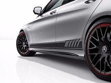 Mercedes C Klasse limousine AMG Edition 1 Replika Seitenstreifen Aufkleber