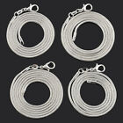 """Fashion Jewelry Silver Plated 2mm Snake Chain Necklace Gift 18"""";20"""",22"""",24"""""""