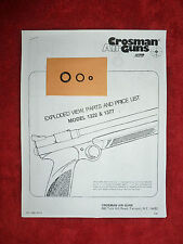 Crosman 1322 1377   One Seal Kit + Exploded View & Parts List + Seal ID Guide