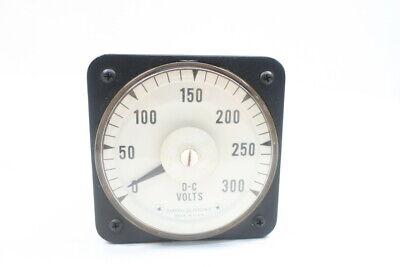 LOT of 5 GE General Electric Model 8DW91 DC Volt Meter 0-75 Volts
