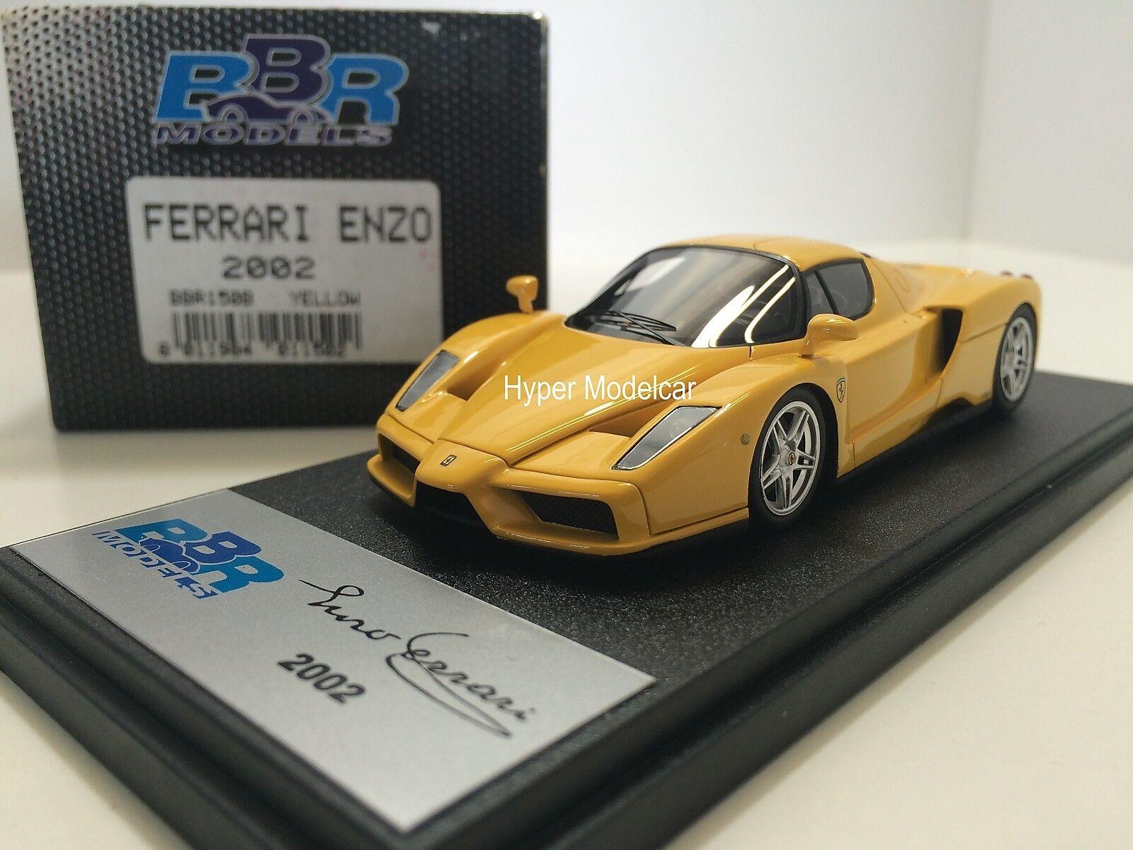 BBR model 1 43 Ferrari Enzo 2002 YelLaag Art.BBR150B