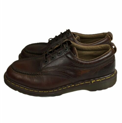 Dr. Marten Made in England Oxford Brown Vintage Sh