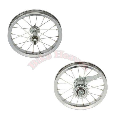 """NEW Bike Bicycle Wheel 12 1//2/"""" x 2 1//4/"""" Steel 20 Spoke Front /& Rear Wheel Kids"""